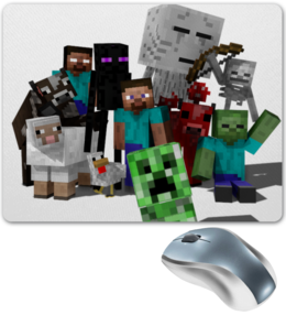 "Коврик для мышки ""Minecraft"""