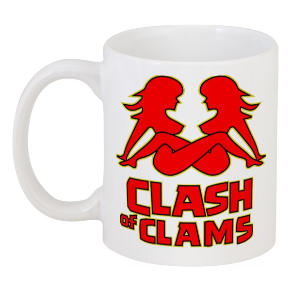 Кружка Printio Clash of clams clash of the worlds
