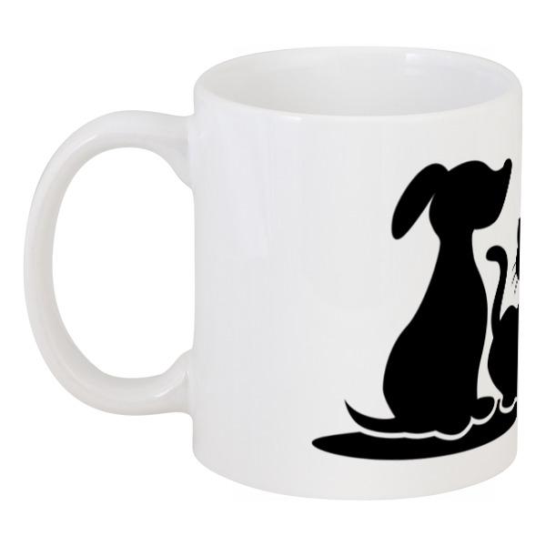 Кружка Printio Пёс и кот кружка printio пёс с косточкой