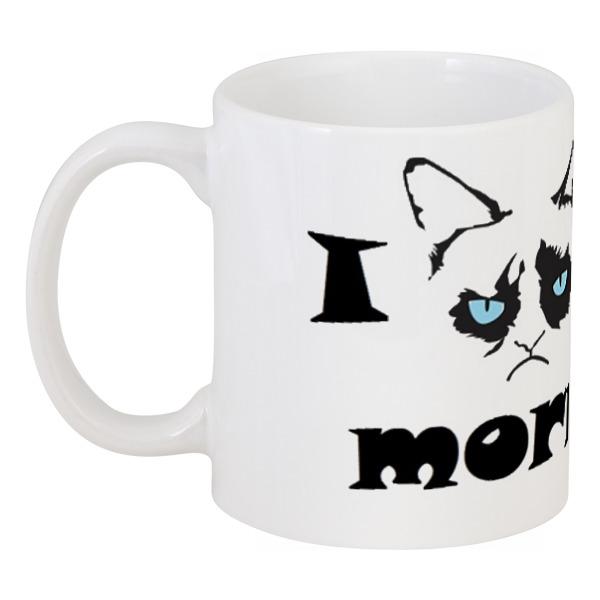 Кружка Printio Grumpy cat кружка printio орден эзик ждёт тебя