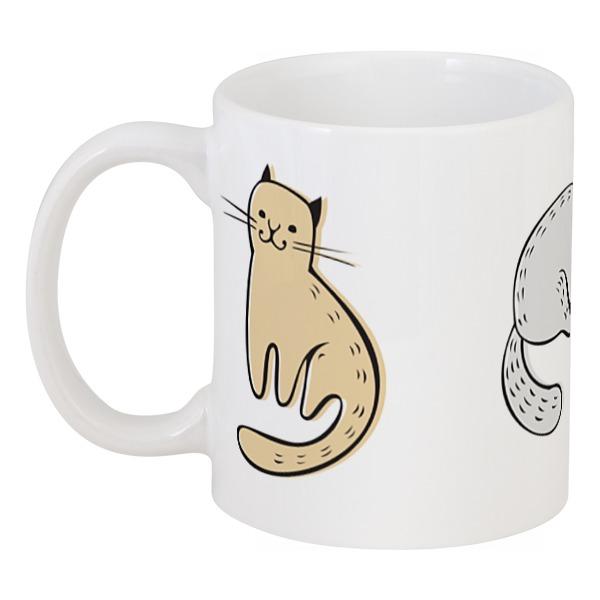 Кружка Printio Три милых котика