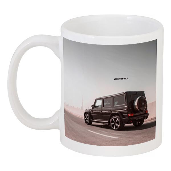 Кружка Printio Mercedes benz ///amg (гелендваген)