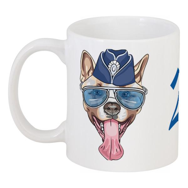 Кружка Printio Собака очки пилота в москве
