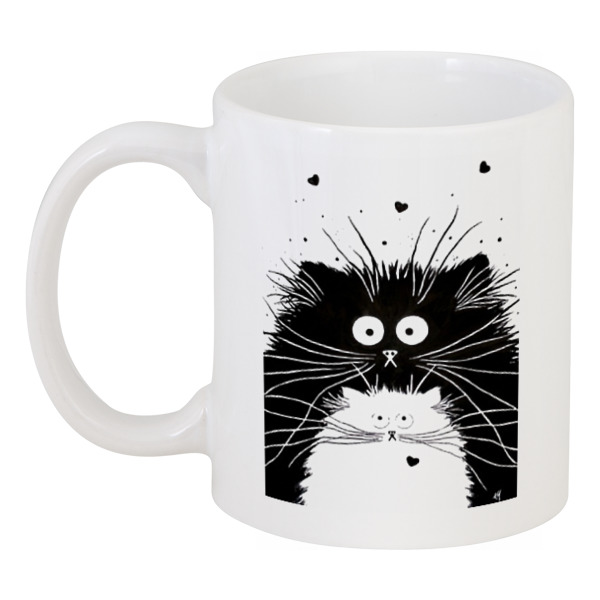 Printio Кот и кошка