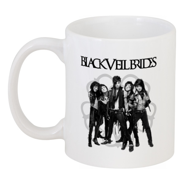Кружка Printio Black veil brides