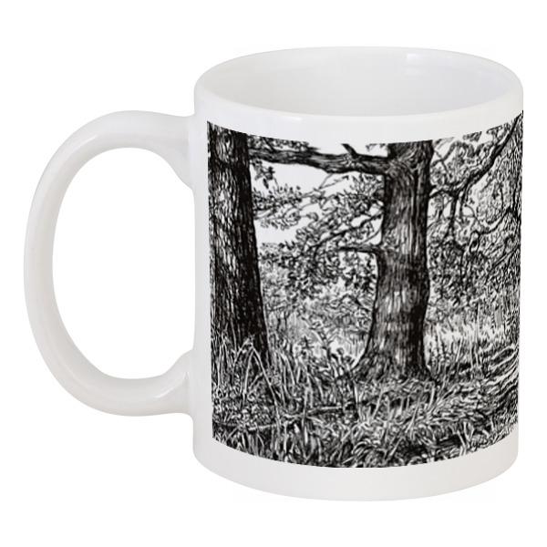 Кружка Printio Прогулка по лесу авторская графика слайд 40х30 автор сергей лоцманов