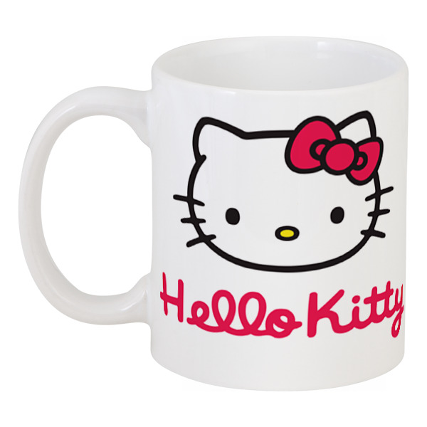 Кружка Printio Hello kitty термокружка hello kitty kittyhello hellokitty