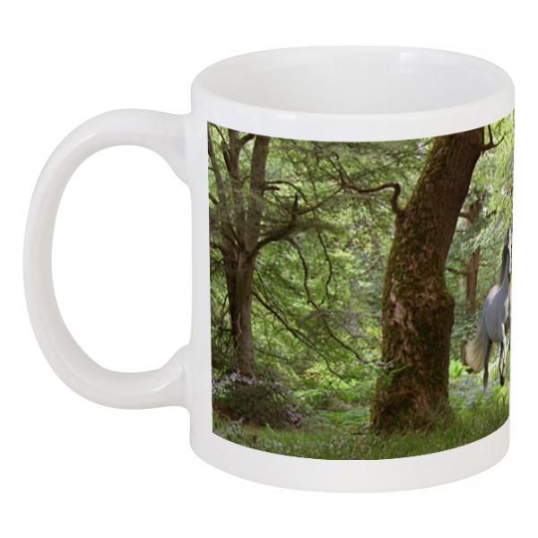 Кружка Printio Лошади в лесу