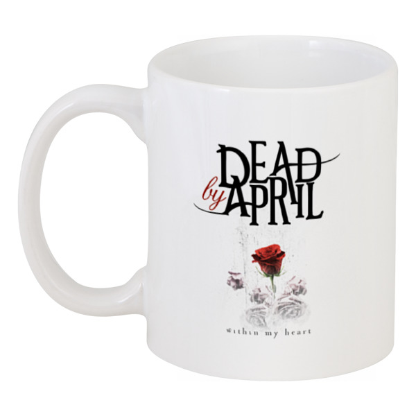 Кружка Printio Dead by april red april