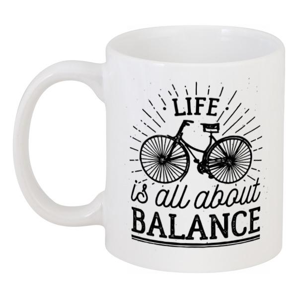 Кружка Printio Жизнь это все о балансе! сумка printio life is all about balance