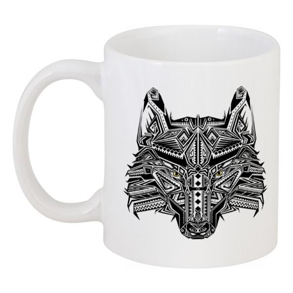 Printio Этнический волк цена и фото