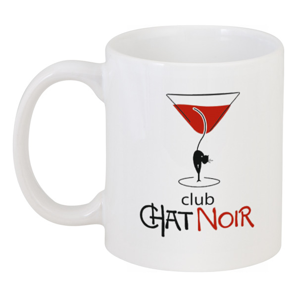 Кружка Printio Chat noir. чёрный кот кружка fireside chat 425 мл