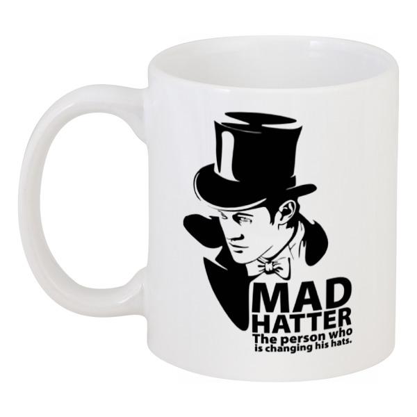 Кружка Printio Mad hatter (doctor who)