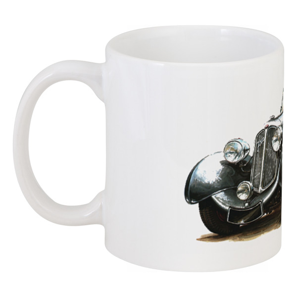 Кружка Printio Ретроавтомобили 7 чартер для всех