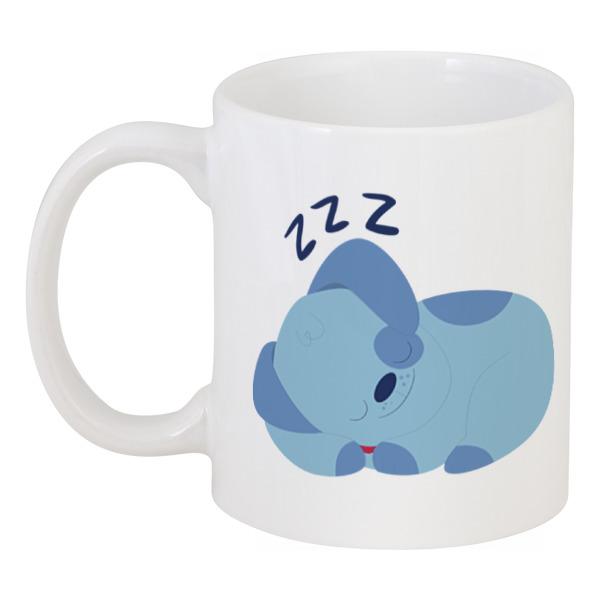 Кружка Printio Спящая собачка спящая красавица