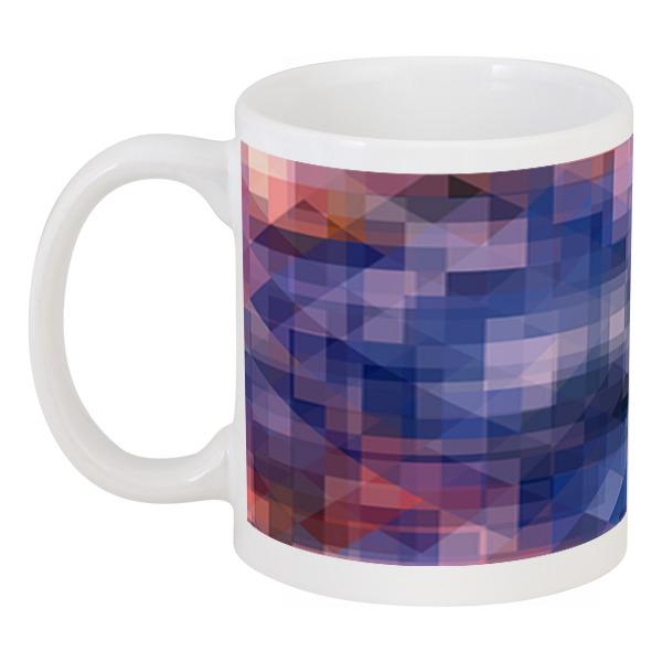 Кружка Printio Пиксель-арт. сине-розовый паттерн борцовка с полной запечаткой printio пиксель арт сине розовый паттерн
