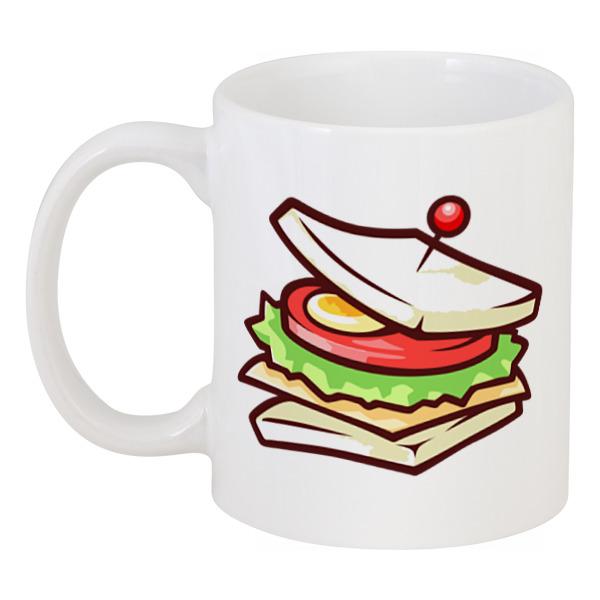 Кружка Printio Сэндвич блокнот сэндвич 002211