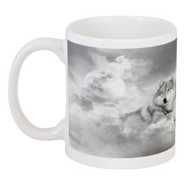 Кружка Printio Волк на облаках кружка printio волк и осень