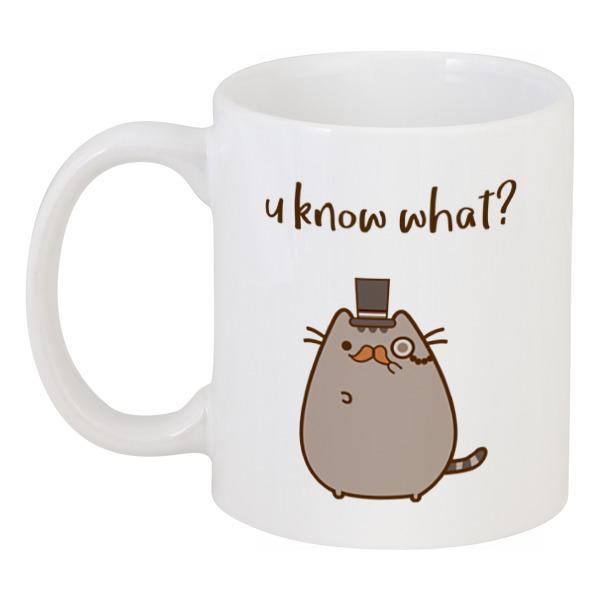 Кружка Printio Влюбленный котик maxitoys игрушка антистресс влюбленный котик