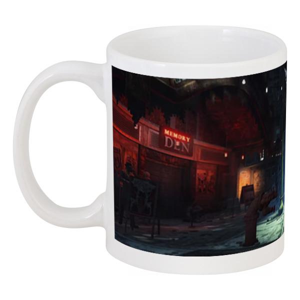 кружка цветная внутри printio чашка с отсылкой на fallout 4 Кружка Printio Fallout 4