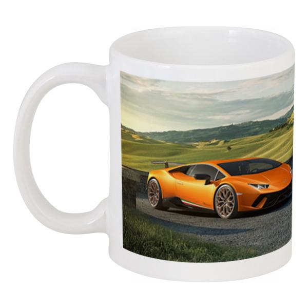 Кружка Printio Lamborghini huracan performante maisto радиоуправляемая модель lamborghini huracan lp 610 4 цвет молочный