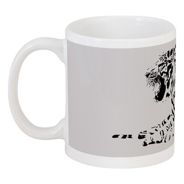 цена Кружка Printio Силуэт бенгальского тигра.
