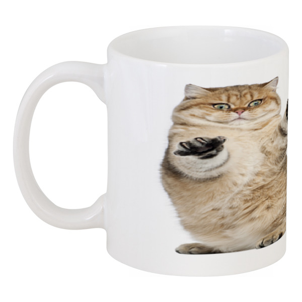 Кружка Printio Веселый кот веселый сапожок