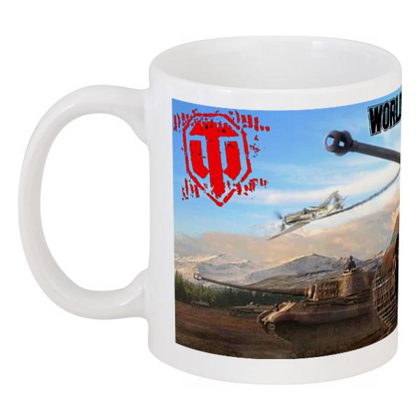 Кружка Printio Tea mug wot creative game handle shape mug