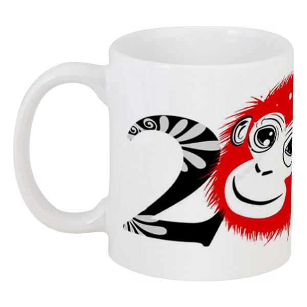 Кружка Printio Новый год(обезьяна) новый