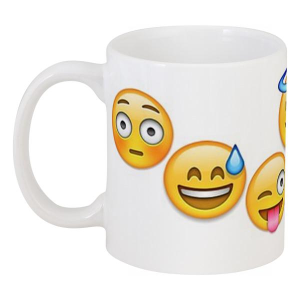 Кружка Printio Emoji диванная подушка getuback emoji si020