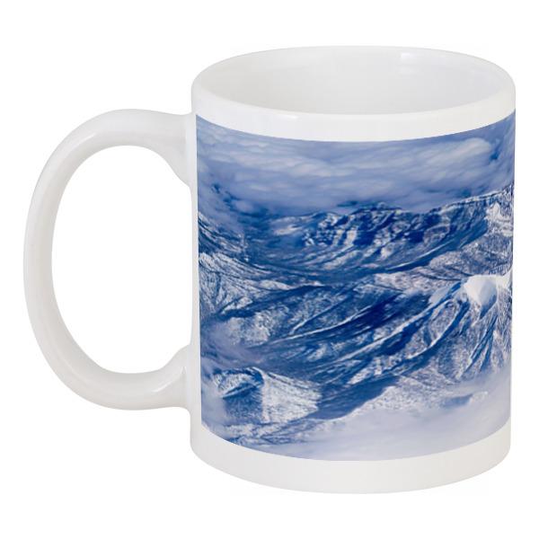 Кружка Printio Снежные горы снежные барсы
