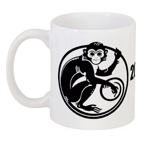 Кружка Printio 2016 год - год красной обезьяны