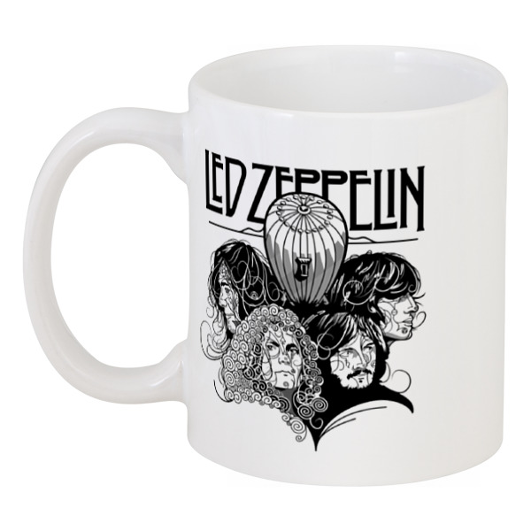 Кружка Printio Led zeppelin