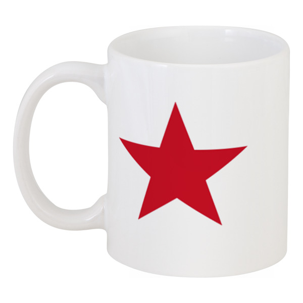 Кружка Printio Красная звезда кроватка с маятником красная звезда агата с718 белая накладка ростомер 11