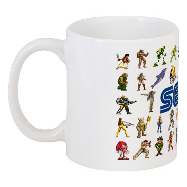 Кружка Printio Sega (персонажи) аксессуары для psp sega sega ss
