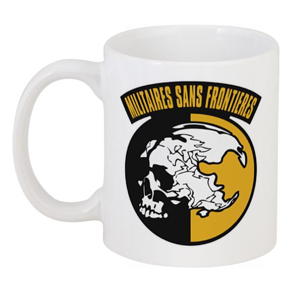 Кружка Printio Солдаты без границ без границ слепые свидания 2 dvd