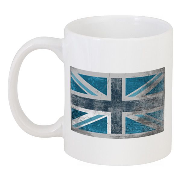 Кружка Printio Синий британский флаг цена