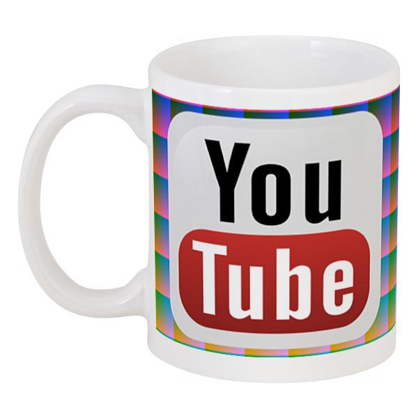Кружка Printio Youtube кепка printio youtube