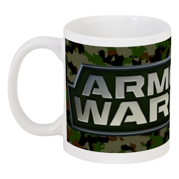 Кружка Printio Armored warfare блокнот printio armored warfare