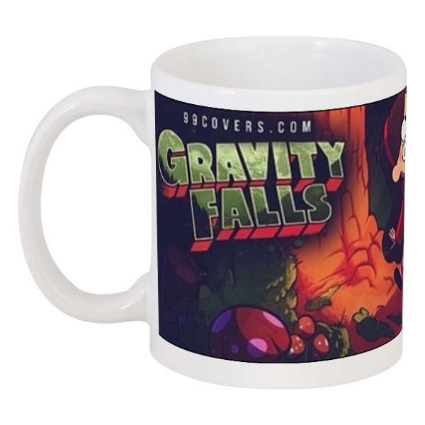 где купить Кружка Printio Gravity falls тетрад дешево