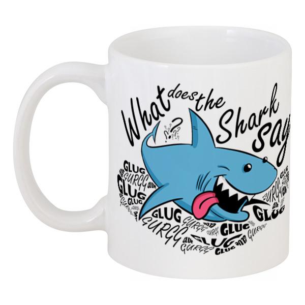 Кружка Printio What does the shark say? say whoa