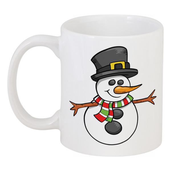 Кружка Printio Снеговик кепка printio снеговик