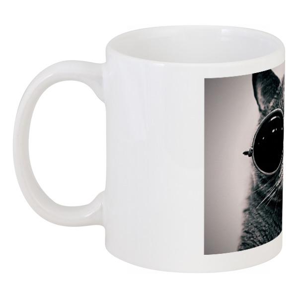 Кружка Printio Кот в очках совы в очках