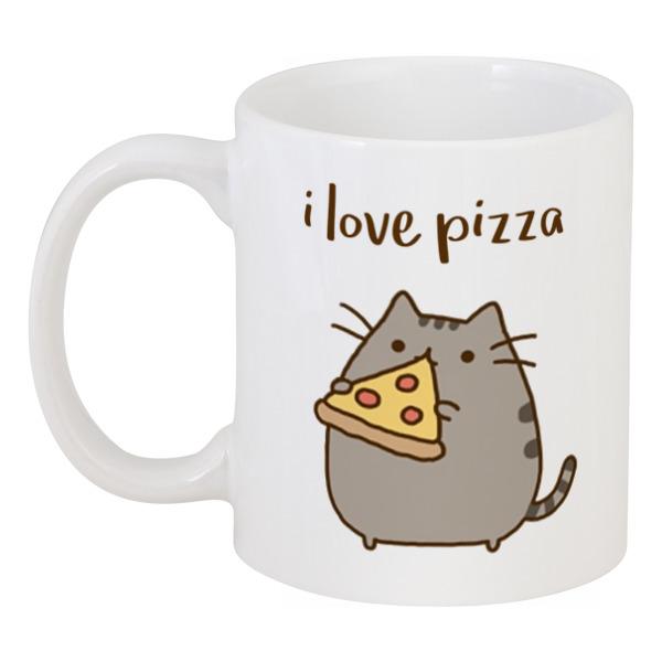 Кружка Printio Влюбленный котик