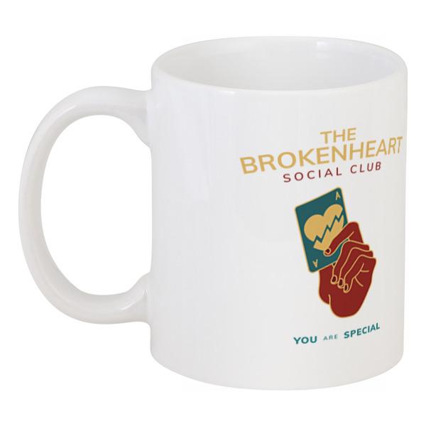 Printio The brokenheart social club футболка anti social social club
