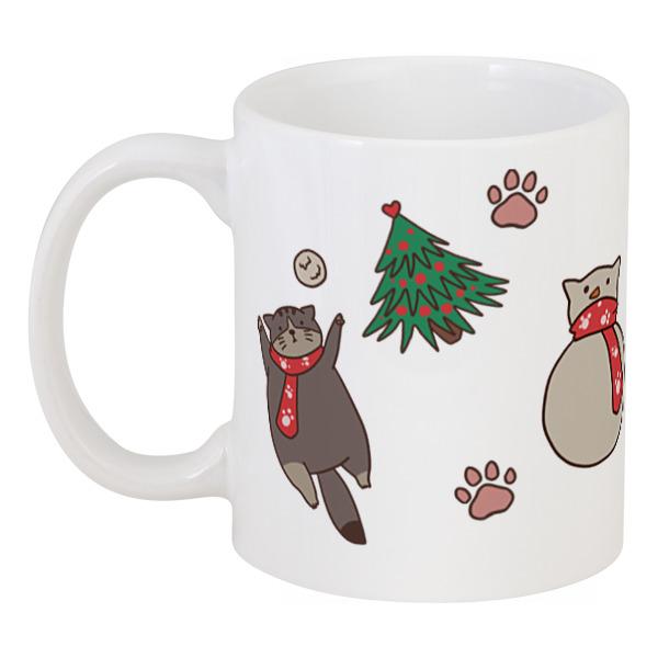 Кружка Printio Winter kitty цены онлайн