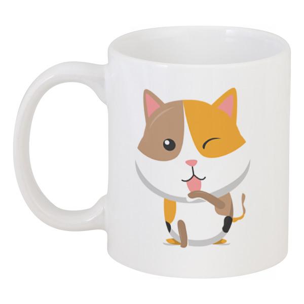 Кружка Printio Котёнок погремушка котёнок