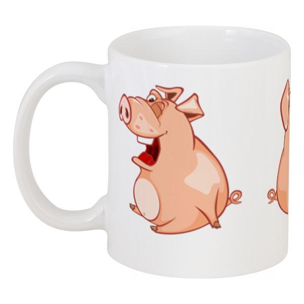 Фото Кружка Printio Прикольные свиньи