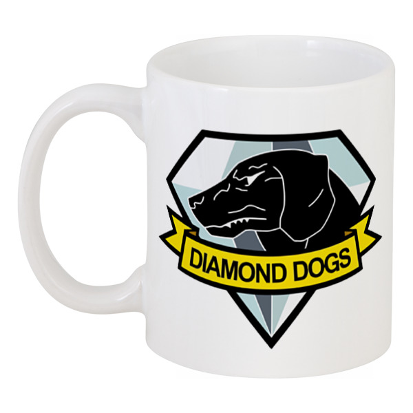 Кружка Printio Diamond dogs (metal gear solid) diamond dogs cd