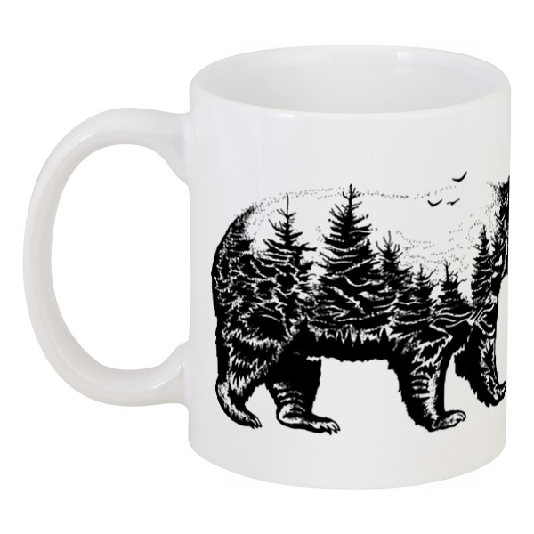 Кружка Printio Русский медведь
